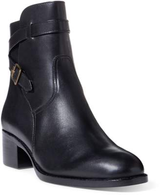 Polo Ralph Lauren Mollie Leather Ankle Boot