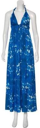 LoveShackFancy Maxi Halter Top Dress