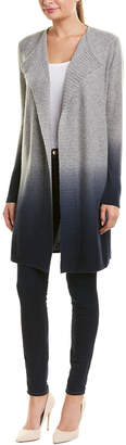 Sofia Cashmere sofiacashmere Sofiacashmere Dip-Dye Long Cashmere Cardigan