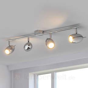 4-flammiger LED-Deckenstrahler Philippa