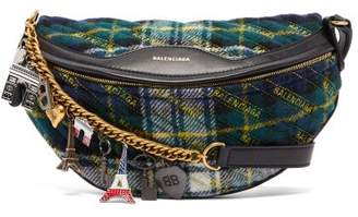 Balenciaga Souvenir Xs Belt Bag - Womens - Green Multi