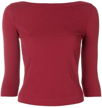 Roberto Collina slash neck sweater