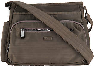 Lug Medium Crossbody Handbag with RFID- Shimmy