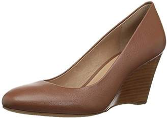 206 Collective Women's Battelle Closed-Toe Covered Wedge Pump