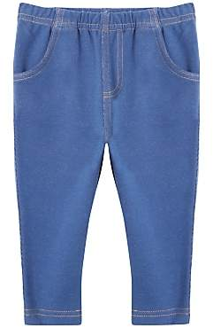 John Lewis & Partners Baby Denim Jeggings, Navy