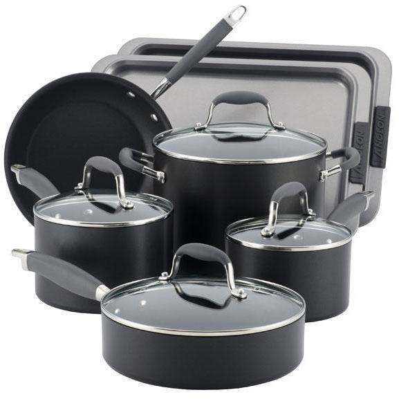 Anolon 9-pc. Nonstick Advanced Cookware Set