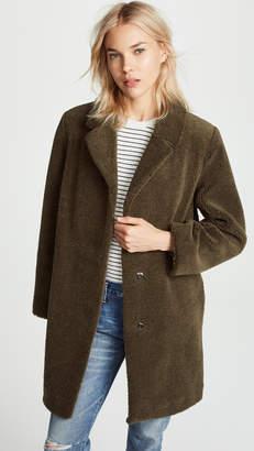 Velvet Trishelle Sherpa Coat