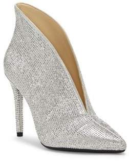 Jessica Simpson Lasvia Embellished Shimmer Booties