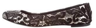 Giuseppe Zanotti Leather Lace Flats