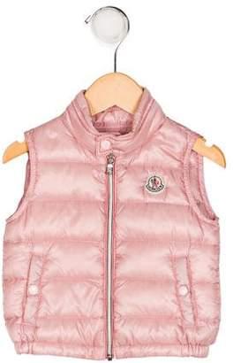 Moncler Girls' Amaury Puffer Vest