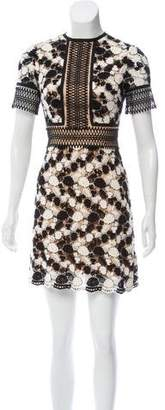 Catherine Deane Lace Mini Dress
