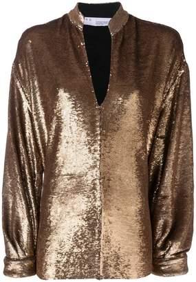 IRO sequin embellished blouse