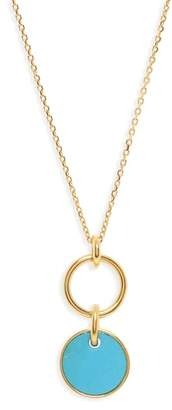 J.Crew Demi Fine Pendant Necklace