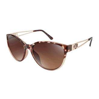 ROCAWEAR Rocawear Cat Eye Cat Eye UV Protection Sunglasses $28 thestylecure.com