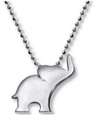 Alex Woo Silver Elephant Necklace