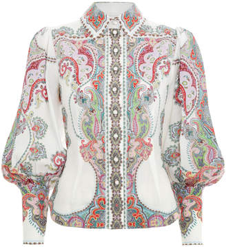 Zimmermann Ninety-Six Filigree Shirt