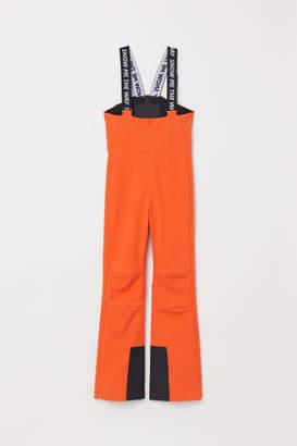 H&M Ski Pants with Suspenders - Orange