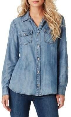 Jessica Simpson Petunia Button Up Shirt