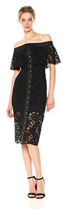 Keepsake The Label Women's Star Crossed Lace Midi Dress