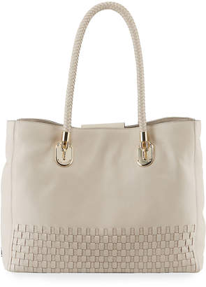 3704215f10 Cole Haan Benson Large Woven Tote Bag