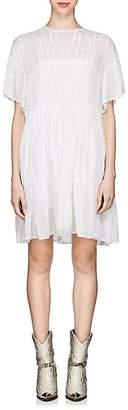 Etoile Isabel Marant Women's Annaelle Embroidered Cotton Smock Dress