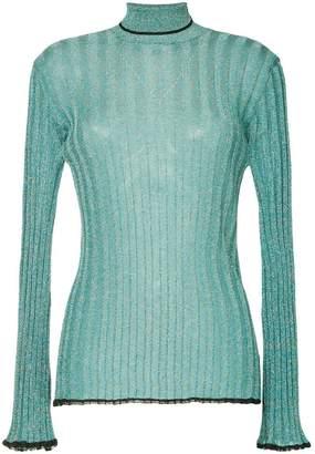 Ellery ribbed glitter sweater