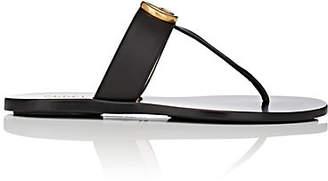 53f7d6d5b982 Gucci Women s Marmont Leather Thong Sandals - Black