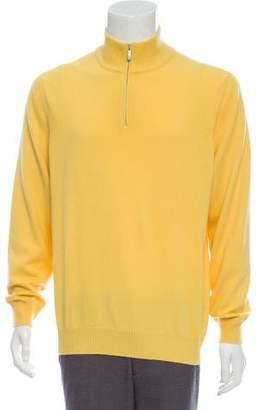 Malo Cashmere Half-Zip Sweater w/ Tags
