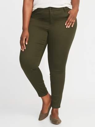 Old Navy High-Waisted Secret-Slim Pockets Plus-Size Rockstar Super Skinny Sateen Jeans