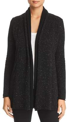 Bloomingdale's C by Contrast-Inset Cashmere Cardigan - 100% Exclusive