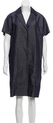 No.21 No. 21 Short Sleeve Denim Dress