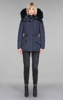 Mackage Katryn Hip Lenght Winter Down Jacket With Fur