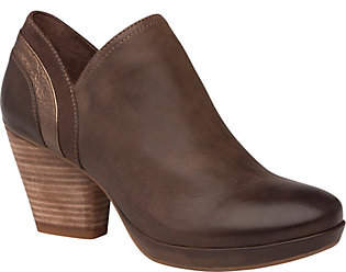 Dansko Leather Closed Back Clogs - Marcia