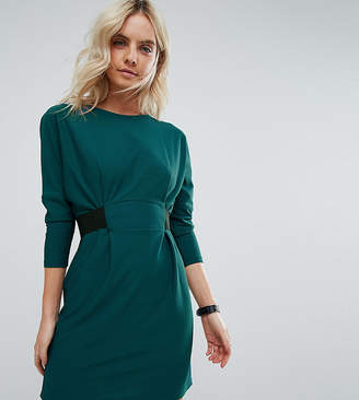 Asos Mini Dress With Elastic Waist Detail