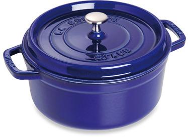 Staub 2.75-Quart Round Cocotte in Dark Blue
