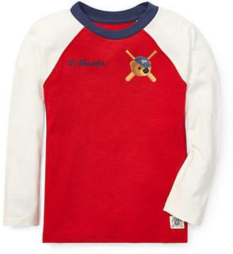 Ralph Lauren Little Boy's Polo Bear Baseball T-Shirt