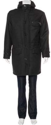 Hermes Down-Filled Wool Coat