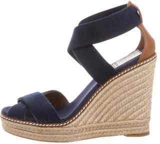 Tory Burch Tory Burch Woven Espadrille Sandals