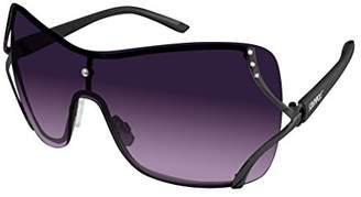 Southpole Women's 454sp-Gun Shield Sunglasses