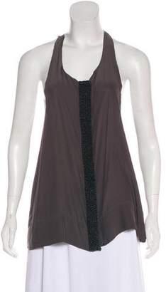 Rag & Bone Embellished Silk Blouse