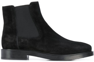 Tod's flat chelsea boots