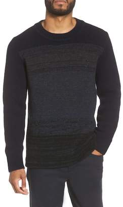 Vince Marled Crewneck Wool Blend Sweater