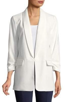 Nipon Boutique Shawl Collar Drapey Jacket
