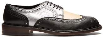 CLERGERIE Roeln lace-up leather brogues