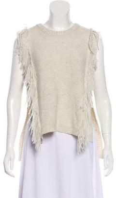Intermix Wool Sleeveless Top