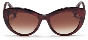 Alexander McQueen Alexander McQueen Shell effect acetate cat eye sunglasses