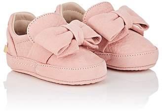 Buscemi Infants' Bow Nubuck Sneakers