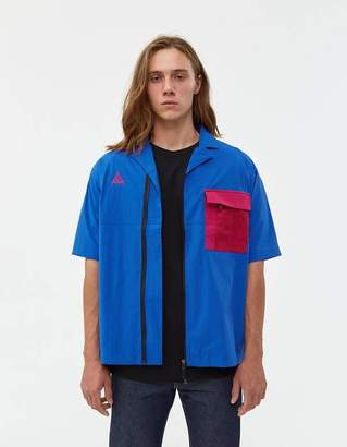 Nike ACG Nylon Shirt in Game Royal