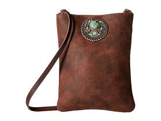 Leather Rock Faith Cell Pouch/Crossbody
