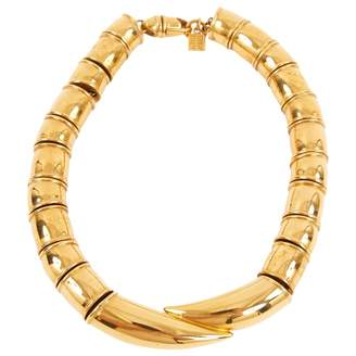Givenchy Gold Metal Necklace